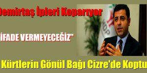 Demirtaş: Kürtlerin gönlünde bir daha asla Türk devleti ile bir aidiyet ilişkisi kurulamayacak!