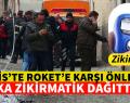 KİLİS'TE ROKET'E KARŞI SÜPRİZ  ÖNLEM