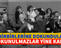 """""""KALDIRAMADILAR"""" TBMM BİRBİRLERİNE DOKUNDULAR"""