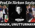 Prof. Dr. Türkan Saylan Ölümünün 7.Yılında Mezarı Başında Anıldı.