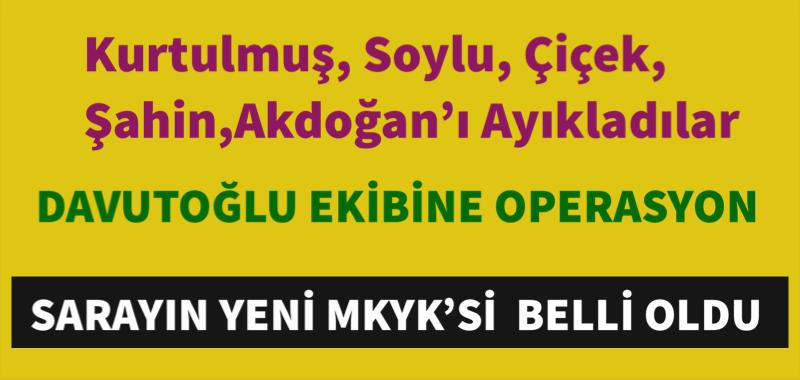 SARAYIN YENİ MKYK'Sİ  BELLİ OLDU