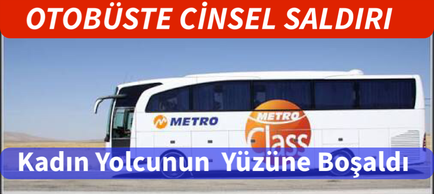 """"""" YOK ARTIK"""" OTOBÜSTE YÜZÜNE BOŞALDI.."""