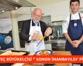 NORVEÇ BÜYÜKELÇİSİ MUTFAĞA GİRDİ, 'SOMON İMAMBAYILDI' PİŞİRDİ
