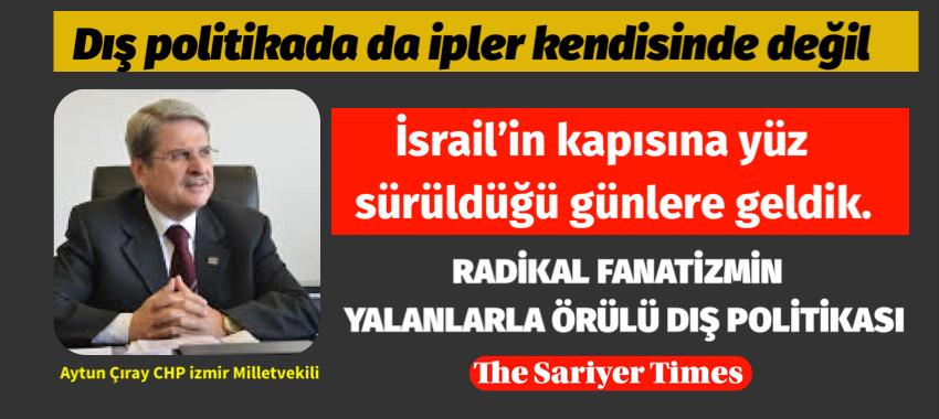 Bu anlaşma Türkiye'yi bataklığa sokan kanlı ütopik dış politikanın sahibinin mutlak bir hezimetidir.
