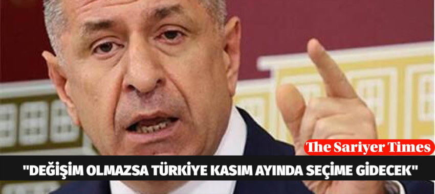 """""""DEĞİŞİM OLMAZSA TÜRKİYE KASIM AYINDA SEÇİME GİDECEK"""""""