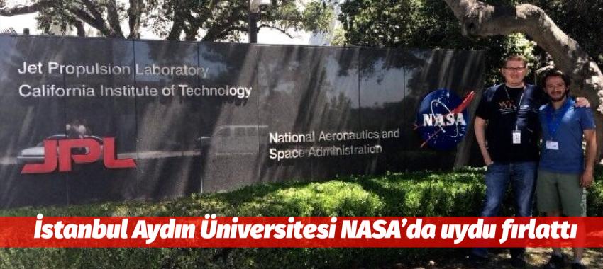 İstanbul Aydın Üniversitesi NASA'da uydu fırlattı