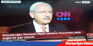 Kılıçdaroğlu. SİYASET SOKAĞA TESLİM OLMADAN YAPILIR