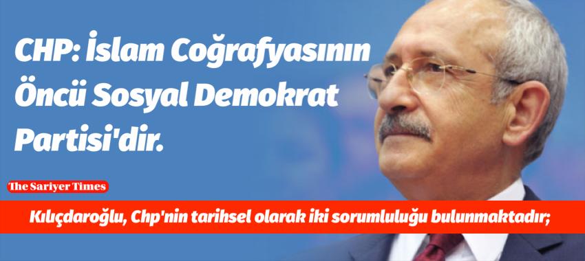 Kemal Kılıçdaroğlu: 21. Yüzyılda Sosyal Demokrasi ve Cumhuriyet Halk Partisi