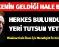 HERKES BULUNDUĞU YERİ TUTSUN YETER