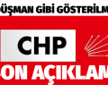 CHP PM,Meclis Grubu Açıklaması