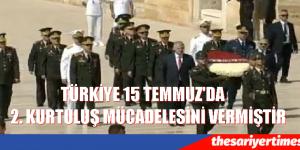YAŞ ÜYELERİ ANIT KABİRİ ZİYARET ETTİ.