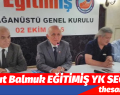 Maksut Balmuk, EĞİTİMİŞ YK SEÇİLDİ