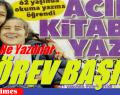 """""""2 KİTAP"""" SARIYERLİ SEN GÖREVİNİ BİLİYORSUN…."""