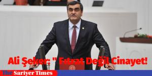 """Ali Şeker: """" Fıtrat Değil Cinayet!"""