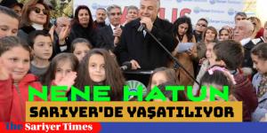 MİLLİ KAHRAMANLAR SARIYER'DE YAŞATILIYOR