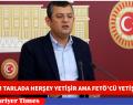 """BİZİM TARLADA HERŞEY YETİŞİR AMA FETÖ'CÜ YETİŞMEZ"""