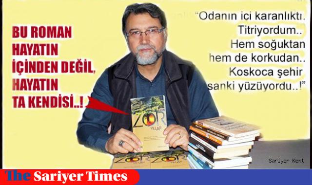 """Tuncay Dağlı'nın """"Zor Yıllar"""" adlı romanı çıktı..!"""