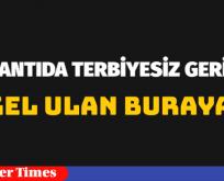 "TOPLANTIDA ""TERBİYESİZ GERİLİMİ"""