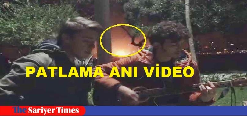 """Video"" İSTANBUL'DA PATLAMA ANI"