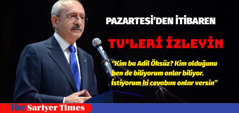PAZARTESİ'DEN İTİBAREN TV'LERİ İZLEYİN