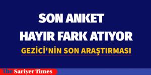 SON ANKET HAYIR'LI ÇIKIYOR