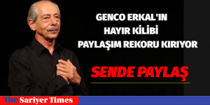 GENCO ERKAL'IN SESİNDEN HAYIR KLİBİ PAYLAŞIM REKORU KIRIYOR