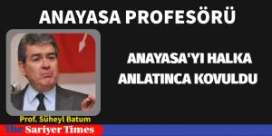 ANAYASA PROFESÖRÜ ANAYASA'YI ANLATINCA İŞİNE SON VERİLDİ