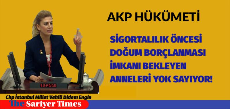 AKP HÜKÜMETİ SİGORTALILIK ÖNCESİ DOĞUM BORÇLANMASI İMKANI BEKLEYEN ANNELERİ YOK SAYIYOR!