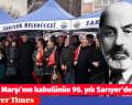 İstiklal Marşı'nın kabulünün 96. yılı Sarıyer'de kutlandı
