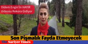 "CHP'Lİ DİDEM ENGİN'DEN ""BAŞKAN VE ADAMLARINA HAYIR!"" VİDEOSU"