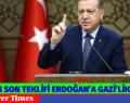 AKP'NİN SON TEKLİFİ ERDOĞAN'A GAZİ'LİK ÜNVANI