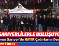 Seyit Torun Sarıyer'de HAYIR Çadırlarını Denetledi