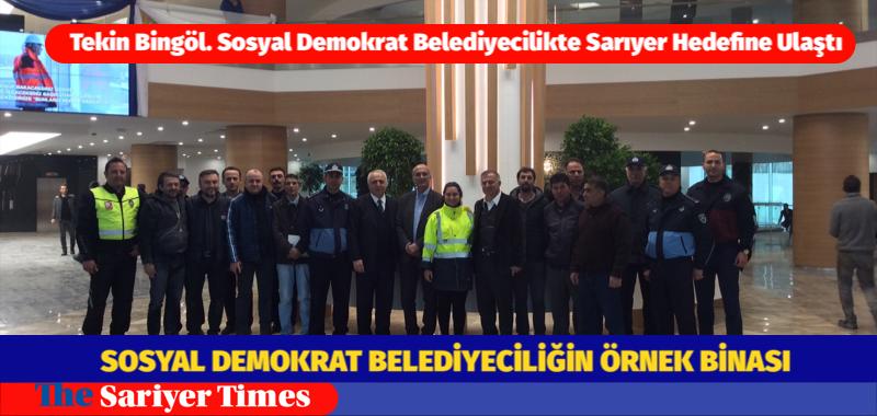 SOSYAL DEMOKRAT BELEDİYECİLİĞİN ÖRNEK BİNASI