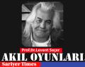 AKIL OYUNLARI…Prof.Dr.Levent Seçer