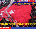 İÇİŞLERİ BAKANI SÜLEYMAN SOYLU SARIYER'E GELDİ