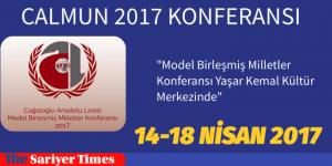 CALMUN 2017 KONFERANSI, Yaşar Kemal Kültür Merkezi'nde