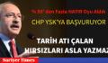 CHP YSK'YA BAŞVURUYOR