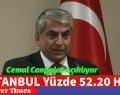 İSTANBUL'DA ISLAK İMZALAR İLE YÜZDE 52.20 HAYIR