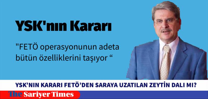 """""""YSK KARARI"""" FETO'DAN SARAYA BARIŞ KARARI MI?"""