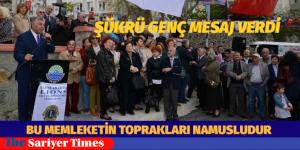 """ŞÜKRÜ GENÇ MESAJ VERDİ """" Bu Memleketin Toprakları Namusludur"""""""