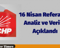 Referandum Analizi ve CHP Verileri