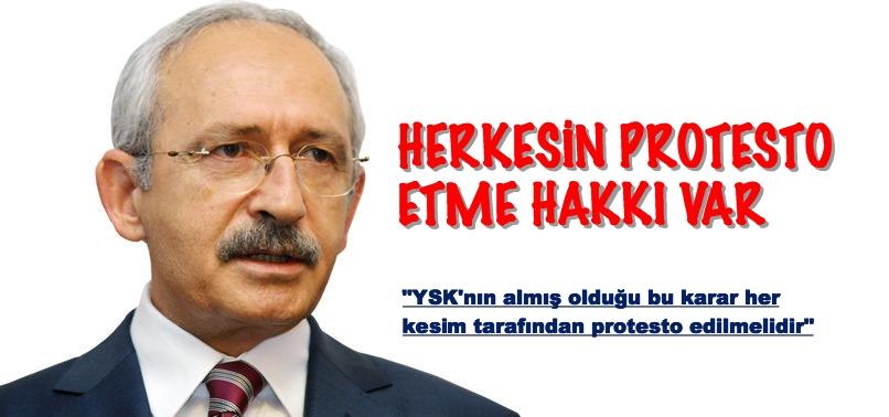 KILIÇDAROĞLU SOKAKTA PROTESTOYA DAVET EDİYOR