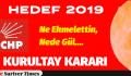 CHP'DEN KURULTAY KARARI