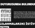 ADD GENEL MERKEZİ SUÇ DUYURUSUNDA BULUNDU