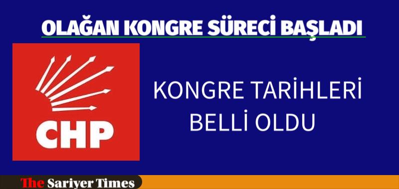 CHP'DE KONGRE TARİHLERİ BELLİ OLDU