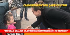 """""""ERDOĞAN, OHAL'İ 30 YIL SÜRDÜREN HÜSNÜ MÜBAREK'E Mİ ÖZENİYOR?"""""""
