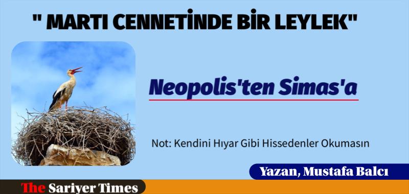 """""""MARTI CENNETİNDE BİR LEYLEK"""""""
