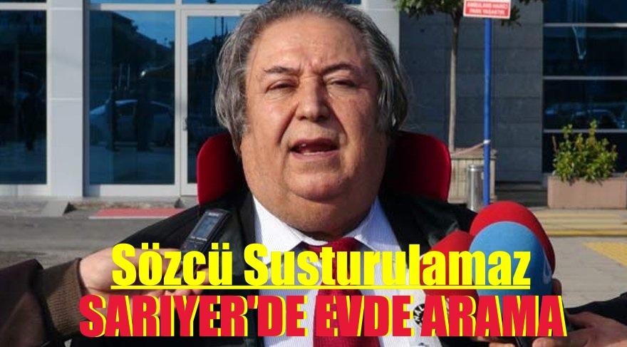 BURAK AKBAY'IN SARIYER'DE EVİNDE ARAMA YAPILIYOR
