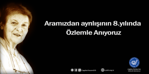 Prof. Dr. Türkan Saylan'ı Özlemle Anıyoruz