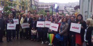 Adalet Yürüyüşü'nün 5. gününde Kocaeli ve Antalya'da destek eylemleri